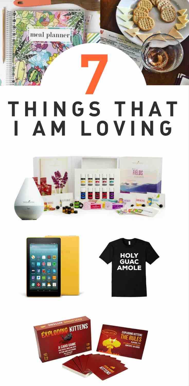 7 of my favorite things