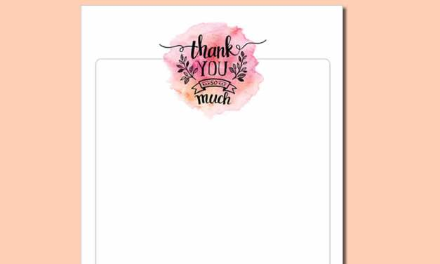 How To Write Thank You Notes In Bulk – Thank You Note Hack!