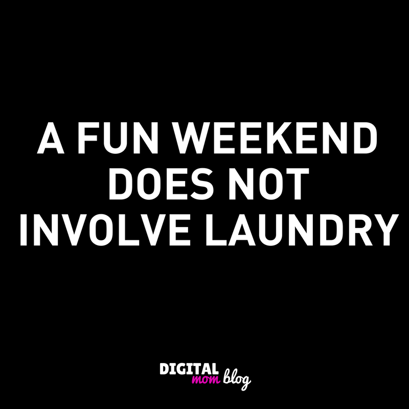fun weekend laundry