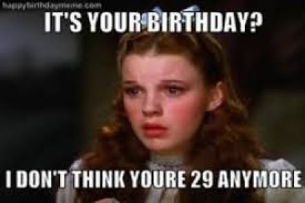 dorothy birthday meme