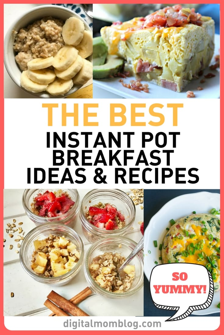 Instant Pot Breakfast Recipes and Ideas