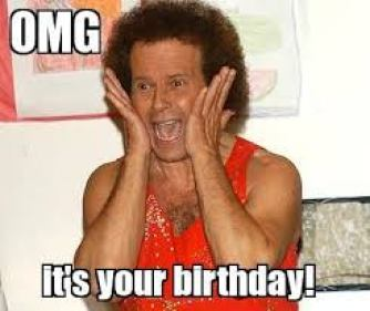 OMG Richard Simmons Birthday