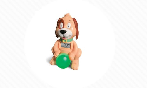 Dog Alarm Clock with Ball Toddlers