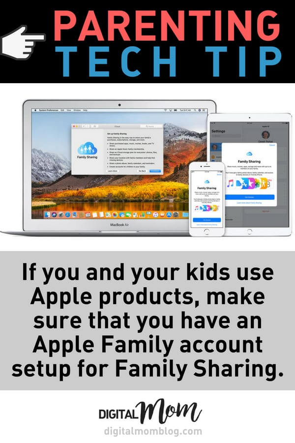 Tech Tip - Create and Apple Family Account