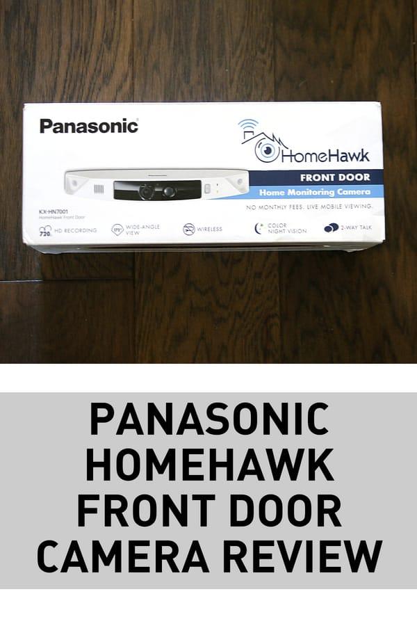 homehawk front door camera - Always Know Who Is At Your Door - Panasonic HomeHawk Front Door Camera Review