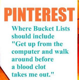 Pinterest Bucket List - Funny Pinterest Memes