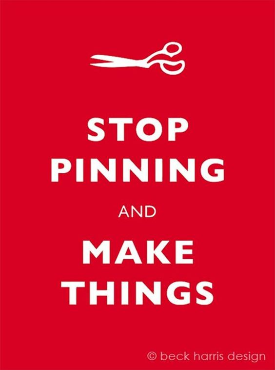 CAN'T STOP PINNING