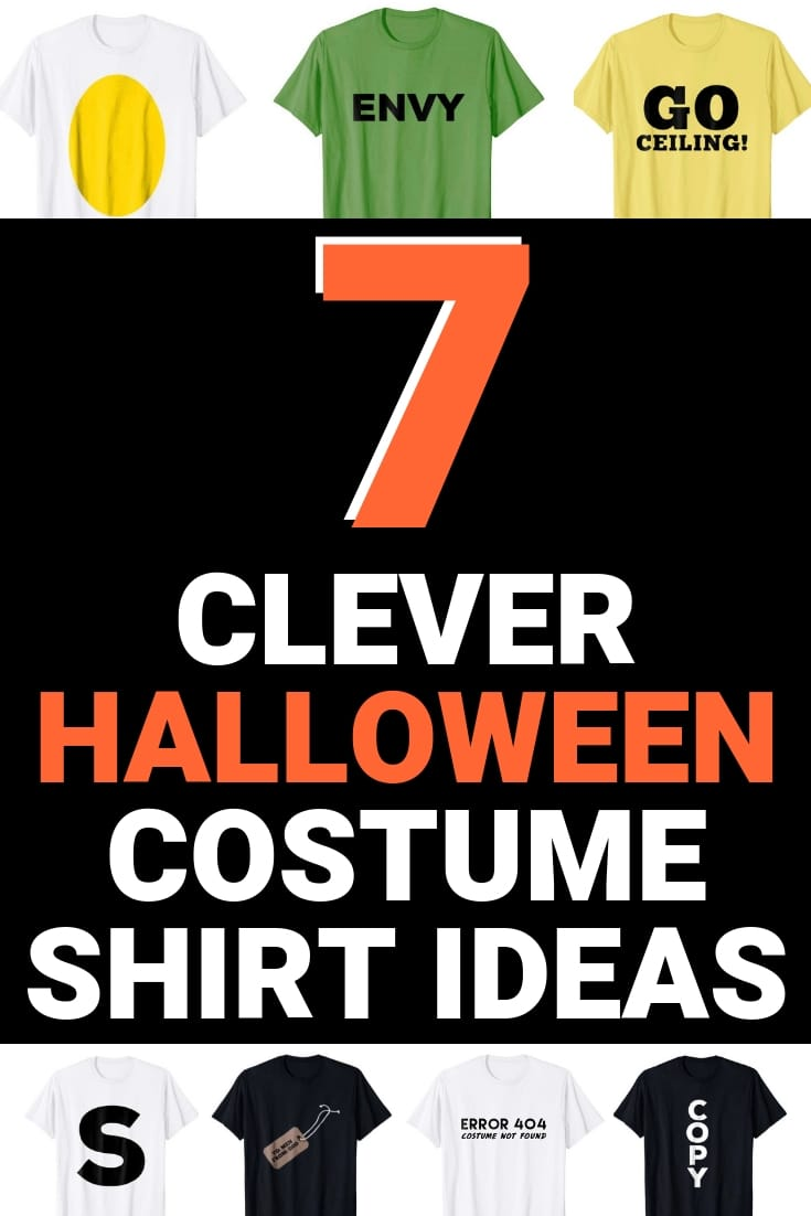 7 pun costume shirt ideas