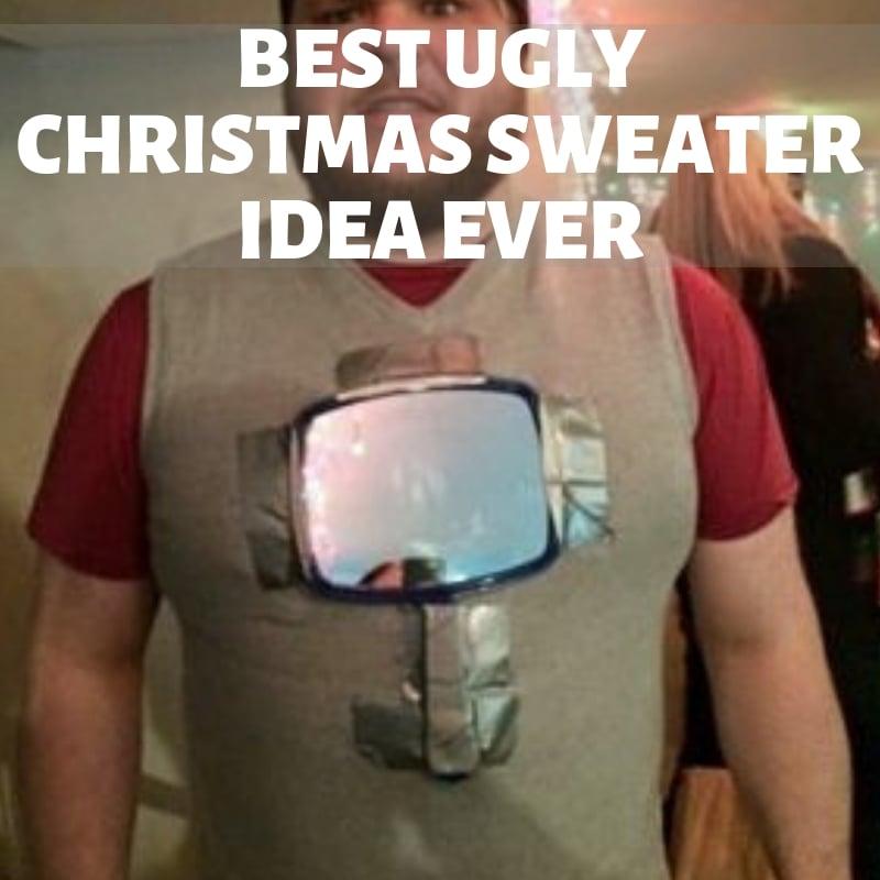 Best Ugly sweater idea mirror