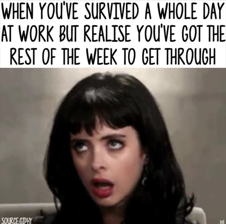 Work Memes - surviving is often part of the job