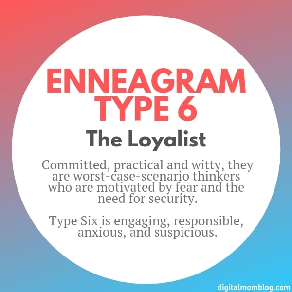 About Enneagram Type 6