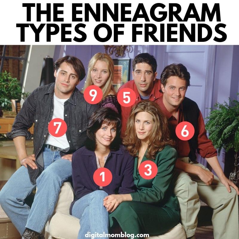 Friends Enneagram Types - enneagram meme friends