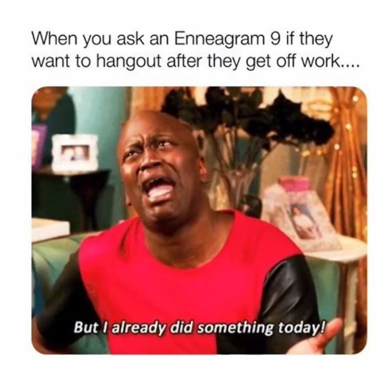 enneagram type 9 images