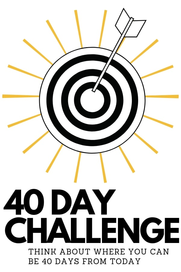 40 days from day challenge