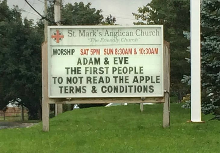 apple-terms-conditions-church-sign-sayings