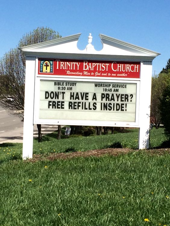 free prayer refills