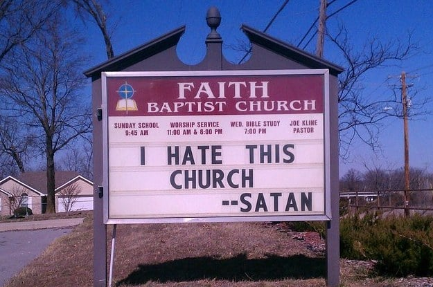 i hate this church