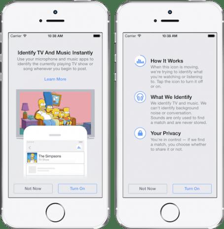 Facebook lance une reconnaissance musicale à l'instar de Shazam