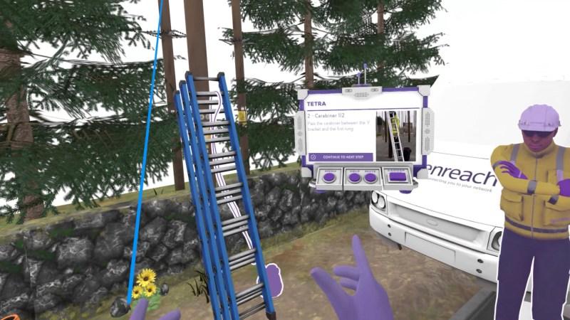openreach high voltage VR training