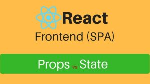 react props vs state