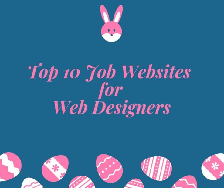 top job websites for web designers