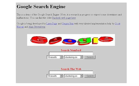 google old version