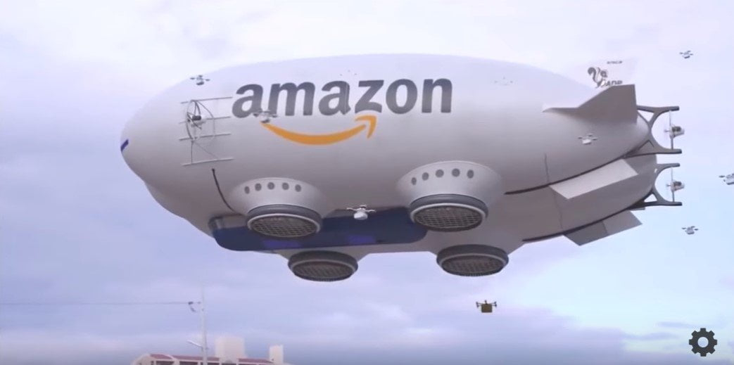 Google And Amazon Set To Deliver Your Packages Via Drone