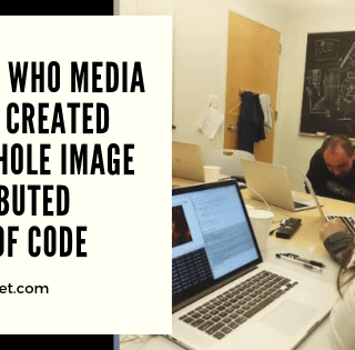 Katie Bouman Only Contributed 0.26 of the Black Hole Image Code