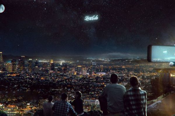 Now You Will See Ads On The Sky At Night With This Startup