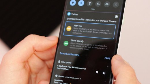 Android q features notification control