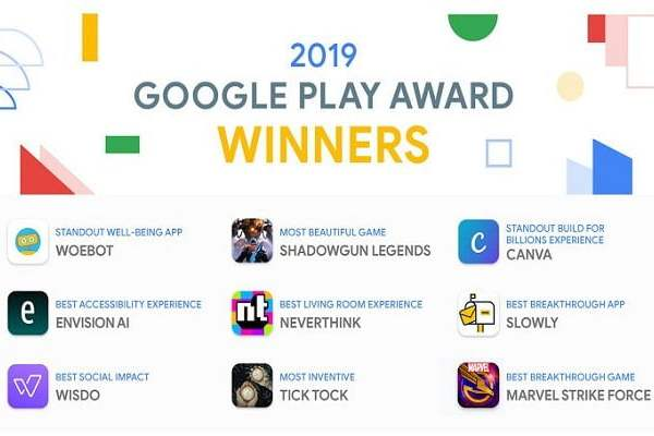 Google Play Award 2019 Winners – Top Android Apps And Games