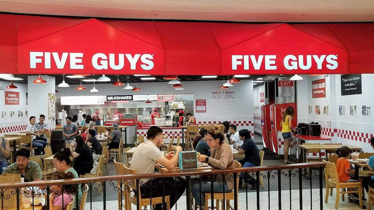Five Guys Singapore