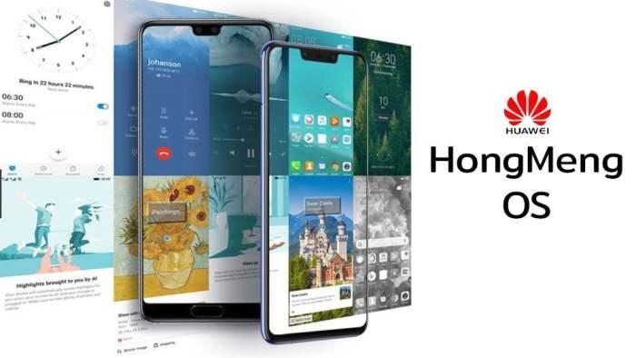 hongmeng os smartphones