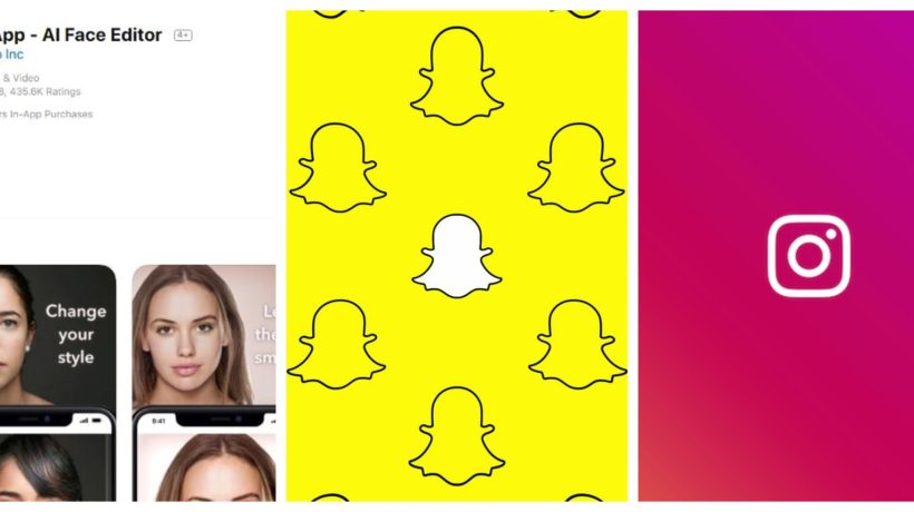 faceapp snapchat instagram data stealing