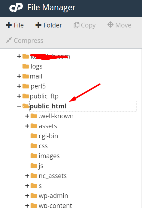 public html cpnael