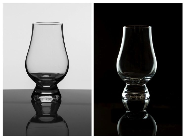 tips for photographing glassware on