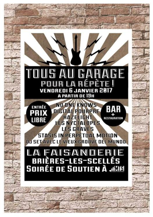 Affiche concert 3MTS - Brières-les-Scellés - 01/2017