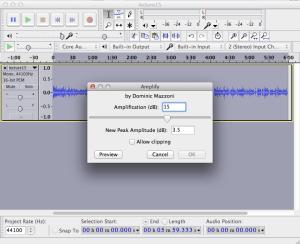 Audacity audio2