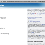 Webinar: Bridging the Digital Revenue Gap; Semantic Strategies for Fueling Sales and Marketing