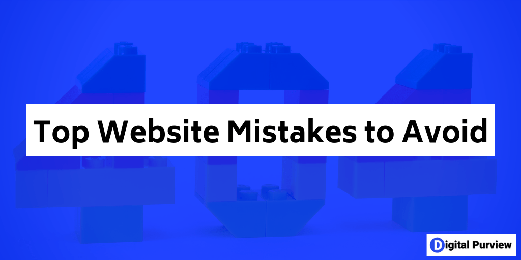 top website mistakes to avoid