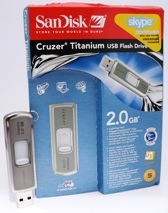 SanDisk Cruzer Titanium U3 2GB USB Flash Drive – Reviewed