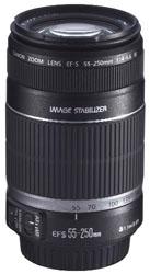 EFS 55 - 250mm IS lens
