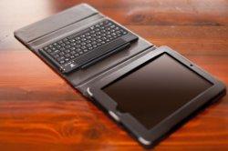 EFO's Leather Folding Ipad Case