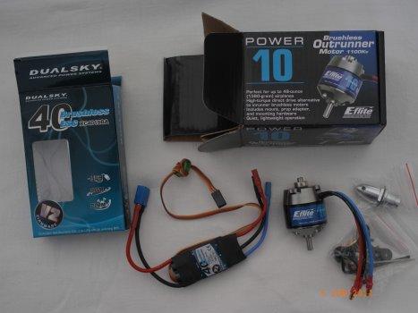 Power10 and 40amp esc