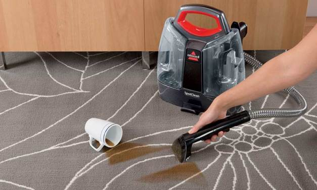 Clean Up with Bissell's New SpotClean