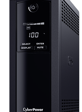 CyberPower VP1200ELCD UPS – Backup Power for Everyone Working from Home