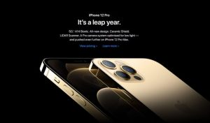 Apple: It's a leap year (but we didn't skip selling four new phones!)