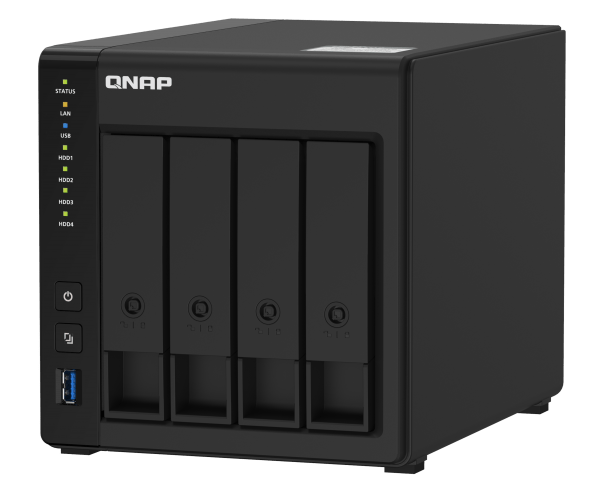 The Predictable Evolution of the NAS: QNAP TS-451D2 is the Latest 4 Bay Unit from QNAP and Perfect for Beginners