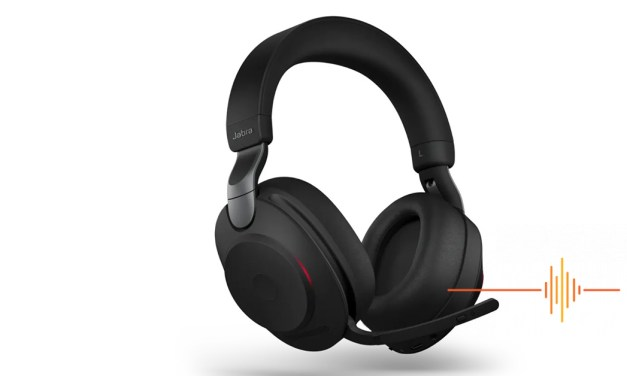 A supremely comfortable UC headset, the Jabra Evolve2 85