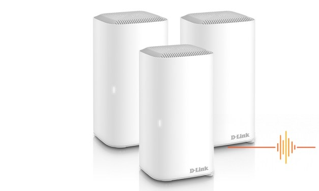 Get fast, extensive WiFi coverage with the D-Link COVR AX1800 mesh router